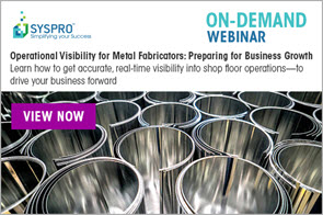 Operational Visibility for Metal Fabricators